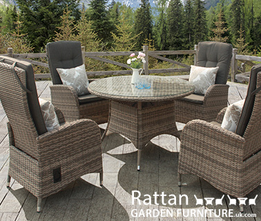 Shop reclining rattan dining sets